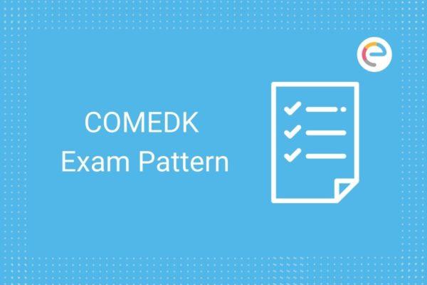 COMEDK Exam Pattern