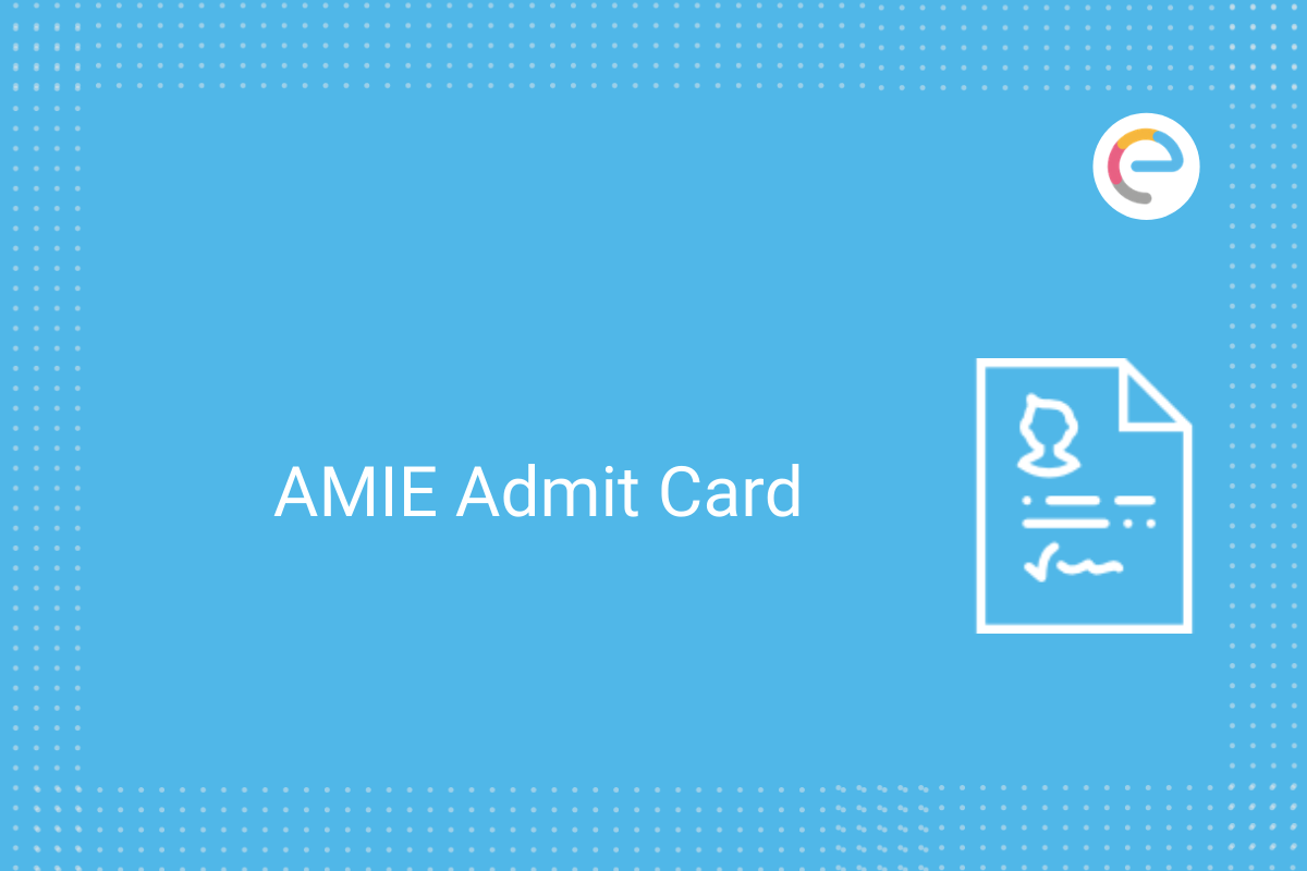 AMIE Admit Card