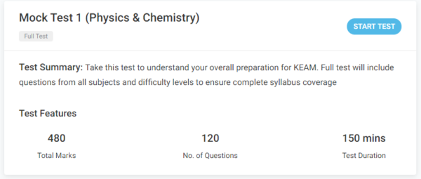 keam mock tests