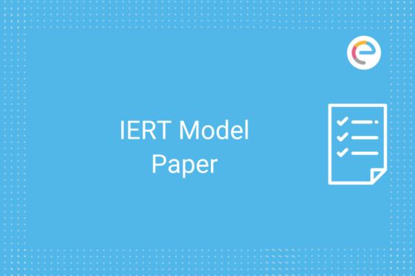 IERT Model Paper