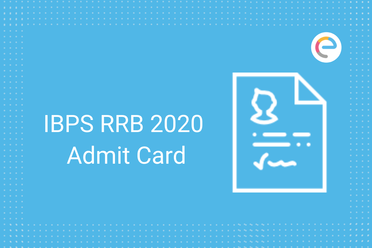 IBPS RRB 2020 admit card