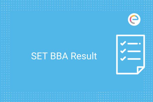 SET BBA Result