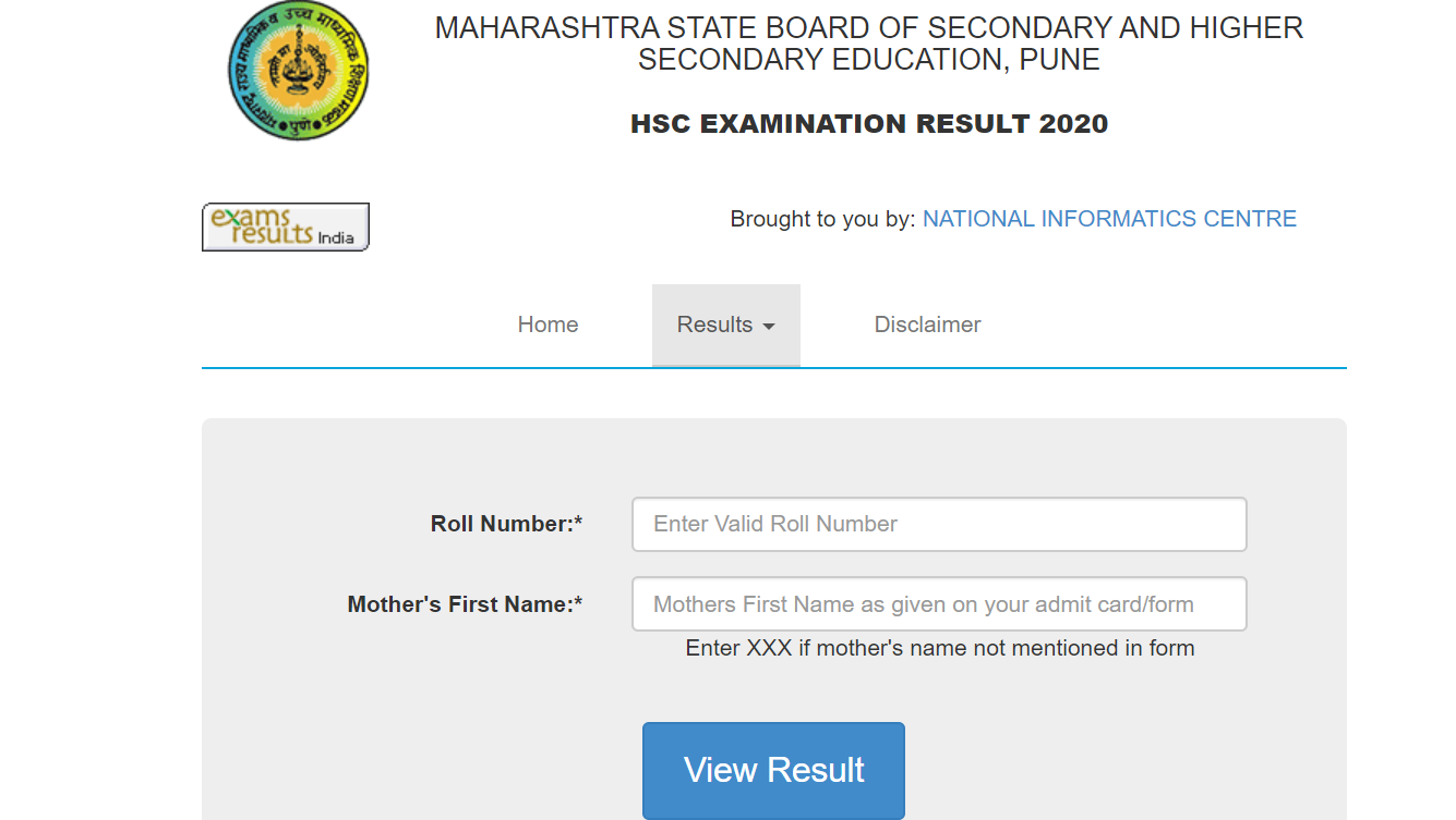 Maharashtra HSC Result 2020 Released @ mahresult.nic.in - Check Maharashtra  12th Result