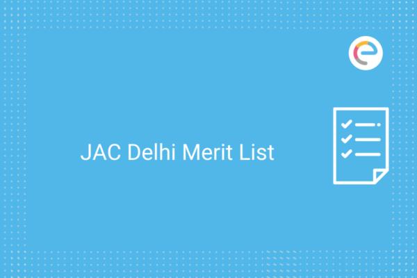 JAC Delhi Merit List