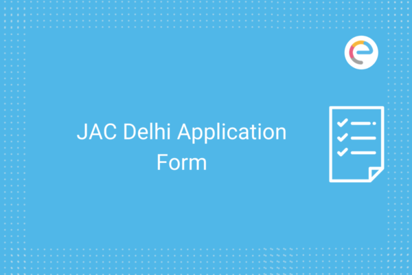 JAC Delhi Application Form