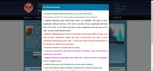 RGPV Diploma Home Page