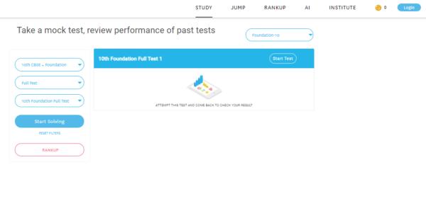 10th foundation full test