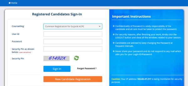 APCP Registration