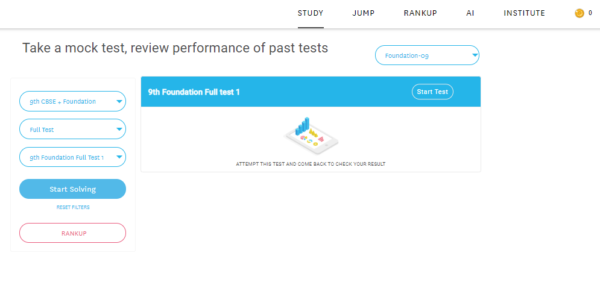 9th foundation full test
