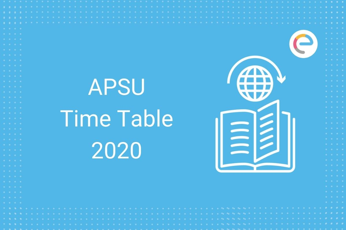 APSU Time Table