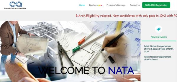 NATA homepage