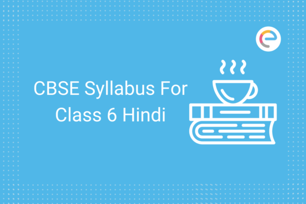 cbse syllabus for class 6 hindi