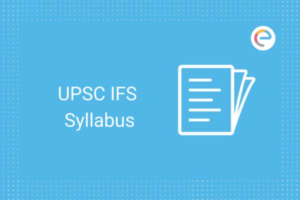upsc ifs syllabus: check