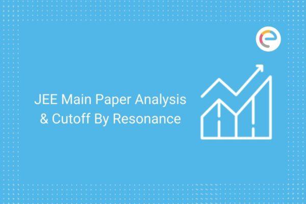 jee main 2020 paper analysis by Resonance