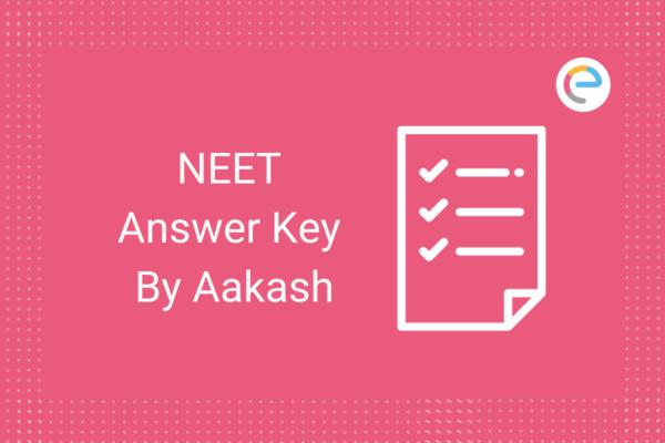 NEET Answer Key Aakash