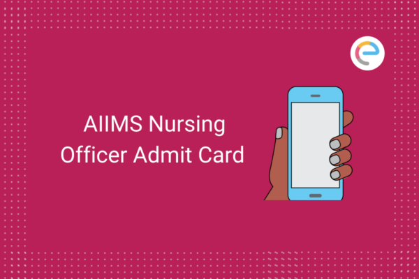 aiims-nursing-officer-admit-card-2020