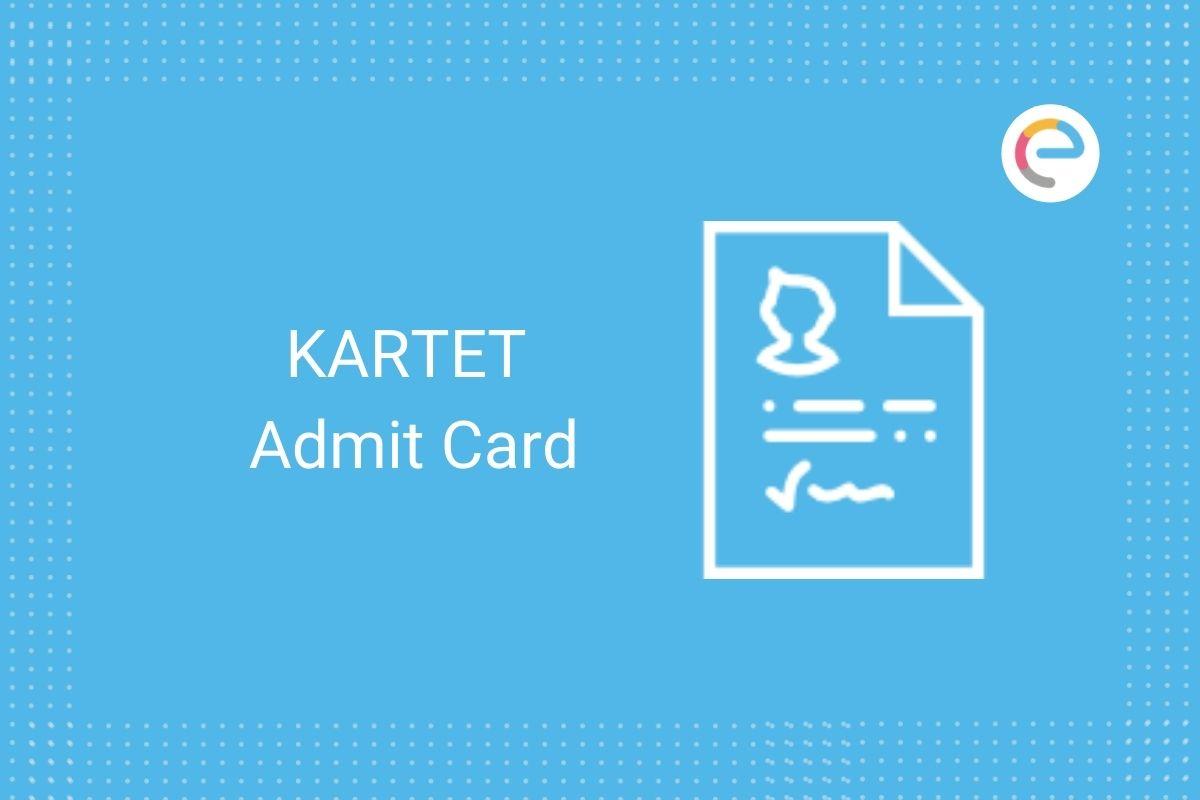 KARTET Admit Card