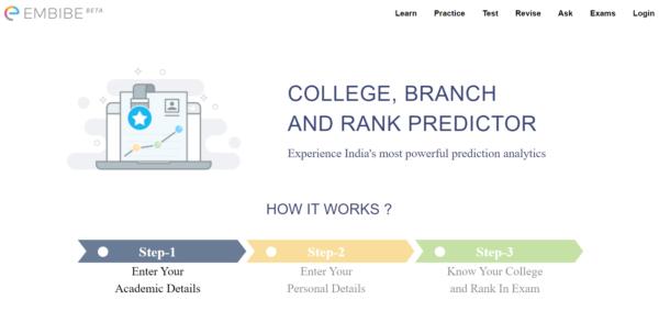 College, Brach and Rank Predictor