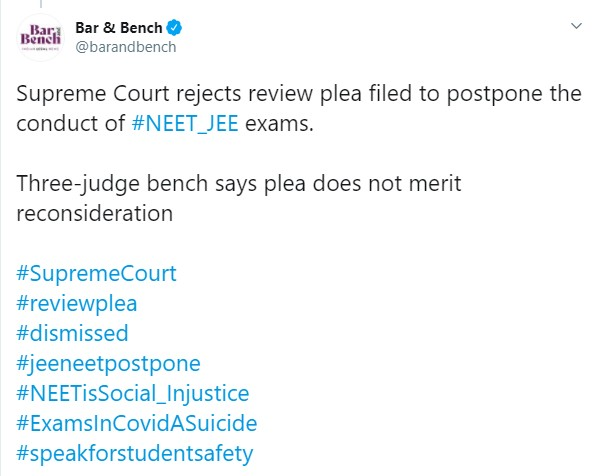 NEET Supreme Court Plea
