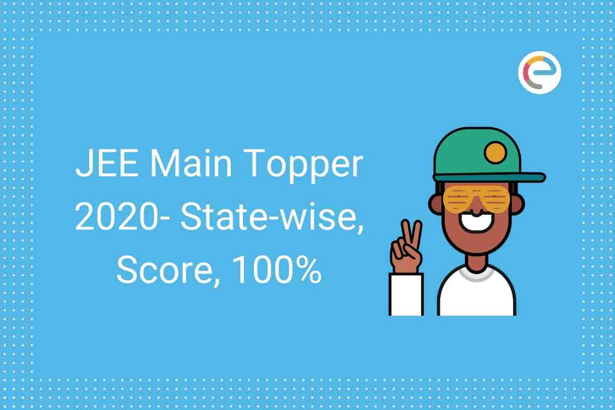 JEE Main Topper 2020 Embibe