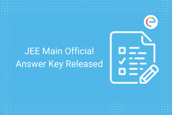jee main answer key released