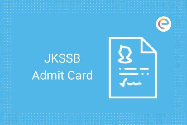 JKSSB Admit Card