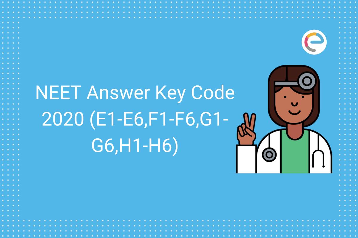 neet answer key code wise