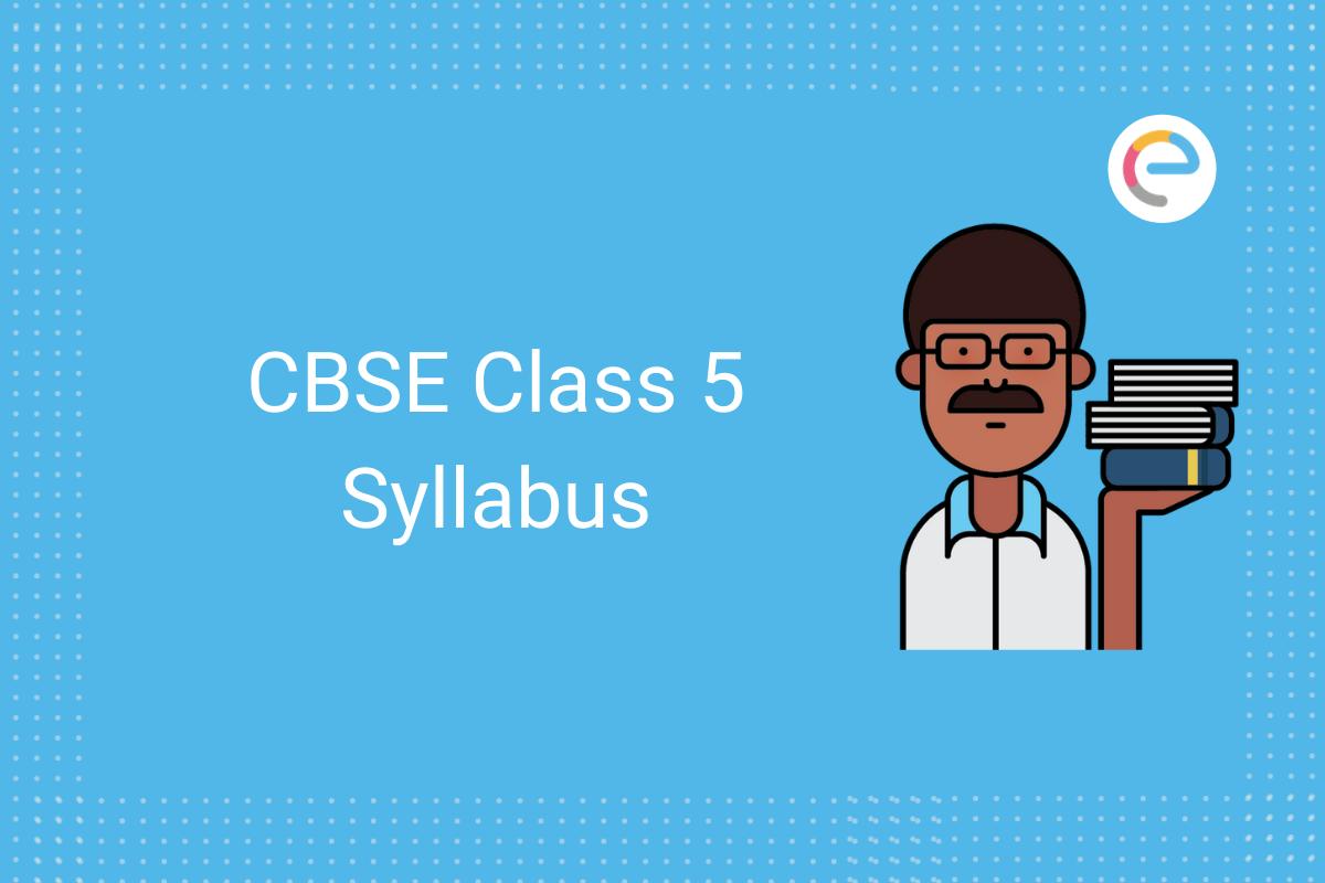 cbse class 5 syllabus