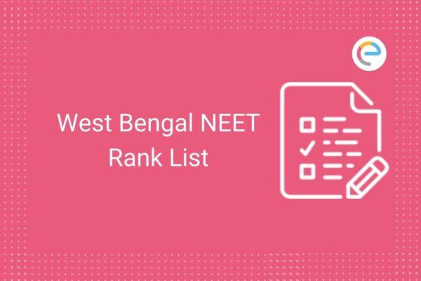 West Bengal NEET Rank List