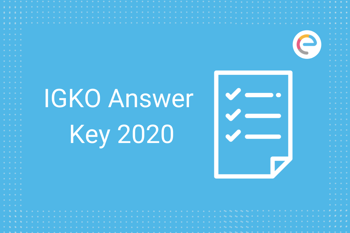 IGKO Answer Key
