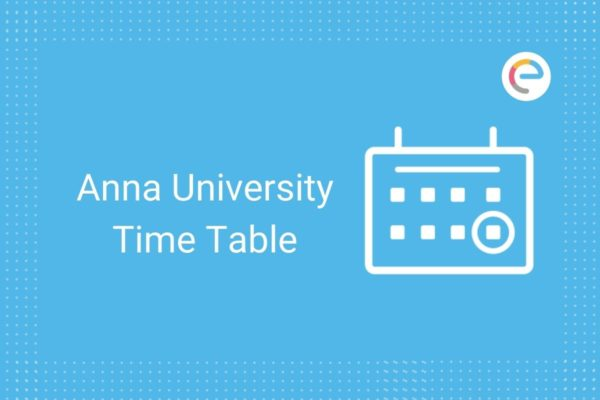 Anna University Time Table
