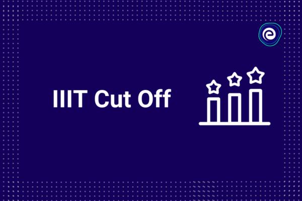 IIIT Cutoff category wise