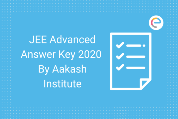 JEE Advanced Answer Key By Aakash Institute