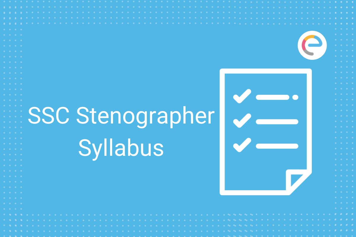 SSC-Stenographer-Syllabus