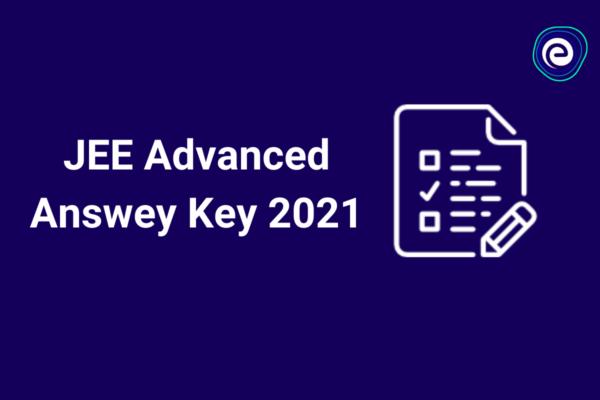 JEE Advanced Answer Key 2021