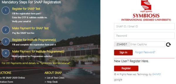 SNAP Registration