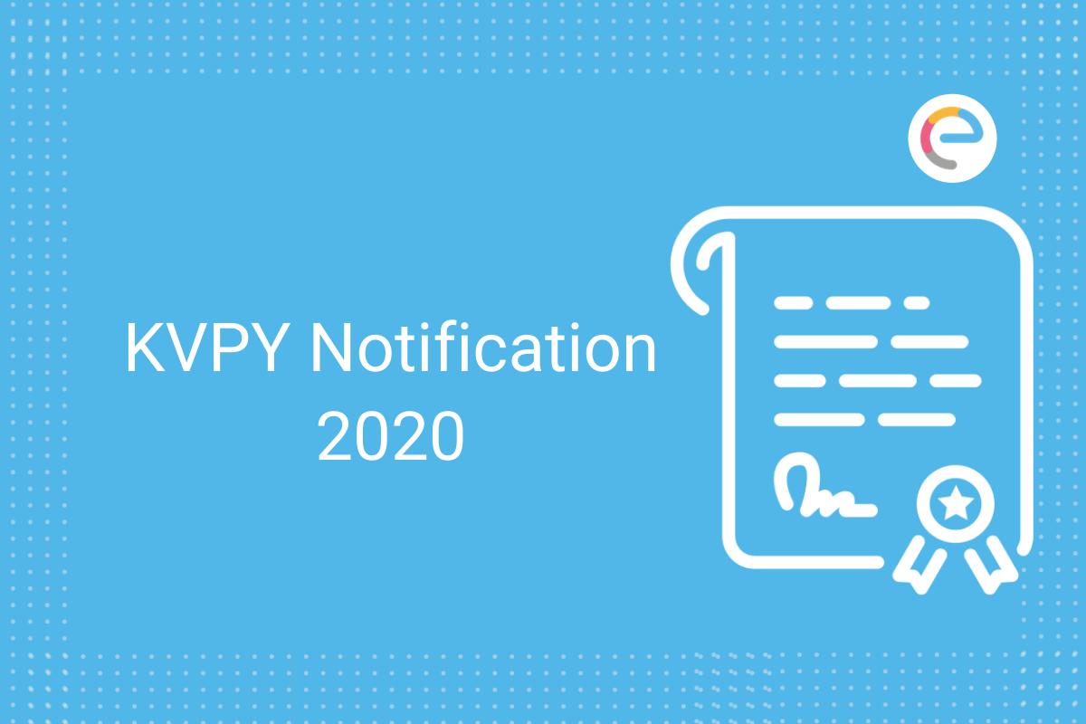kvpy notification 2020