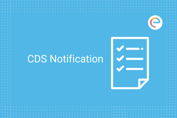 CDS Exam Notification