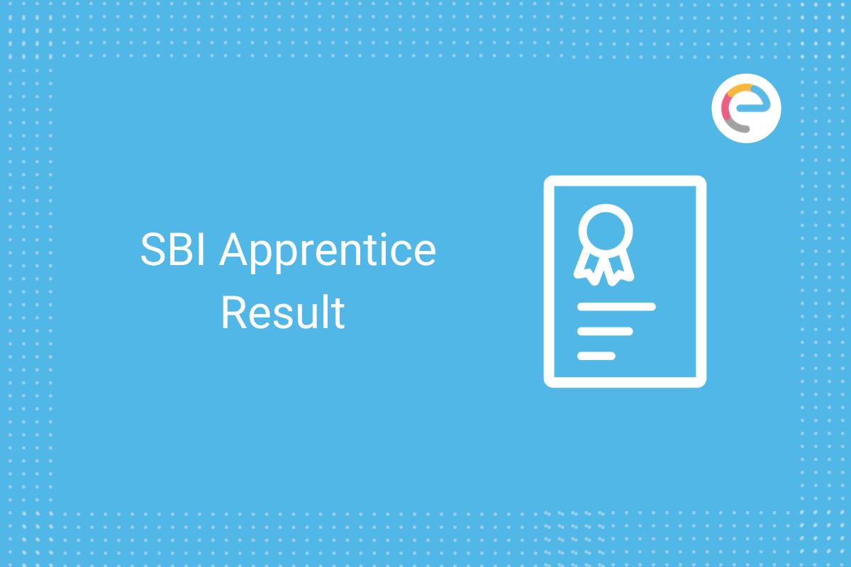 SBI apprentice result 2020: Check