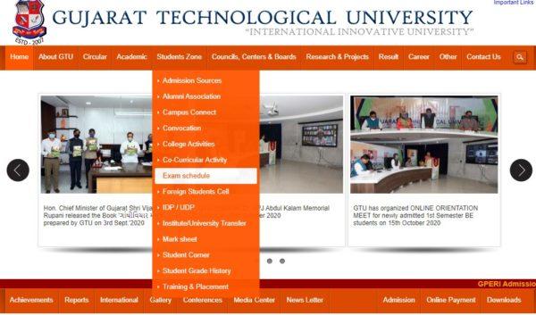 GTU Home Page