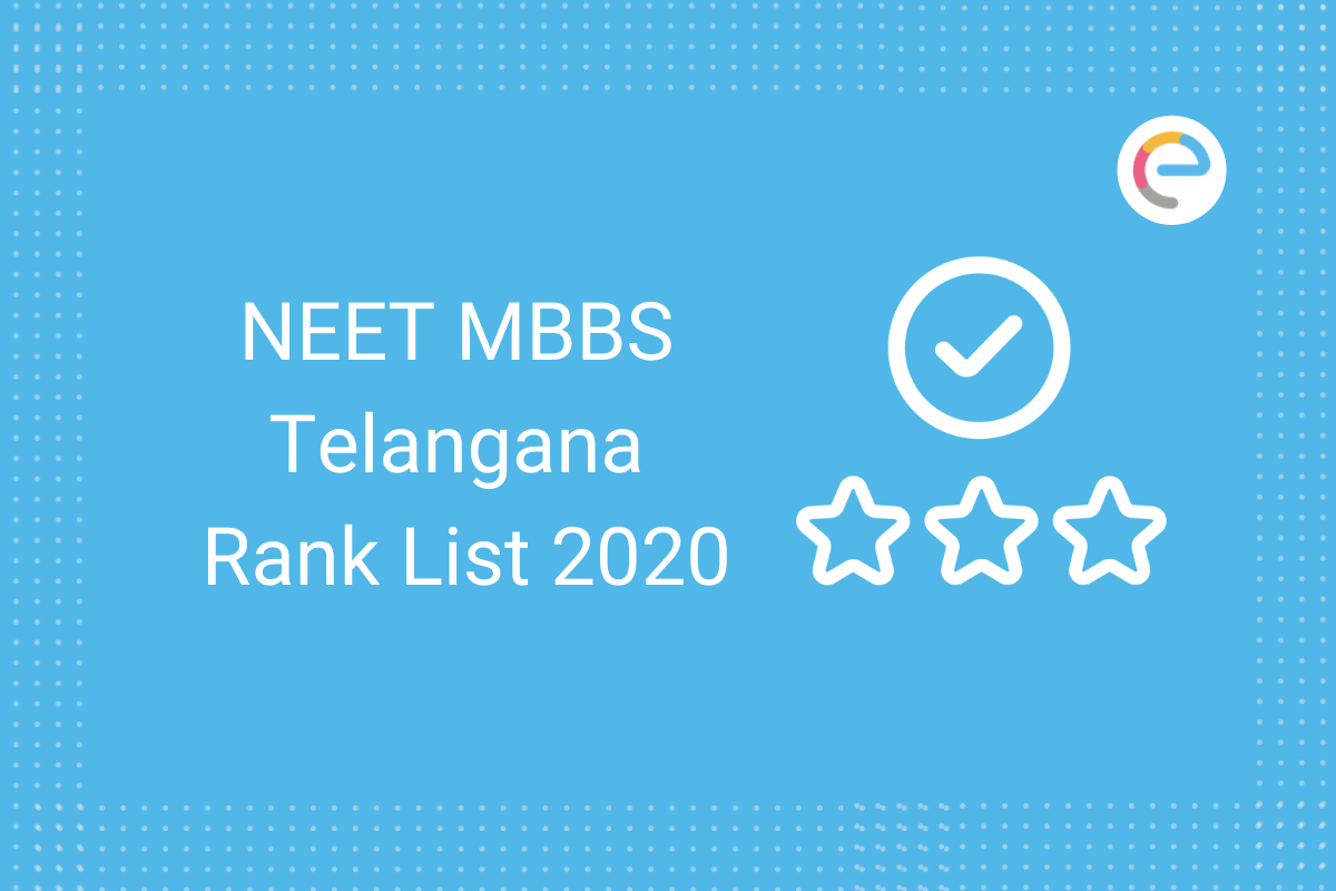 NEET MBBS Telangana Rank List