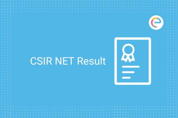 CSIR NET RESULT JUNE 2020 : CHECK