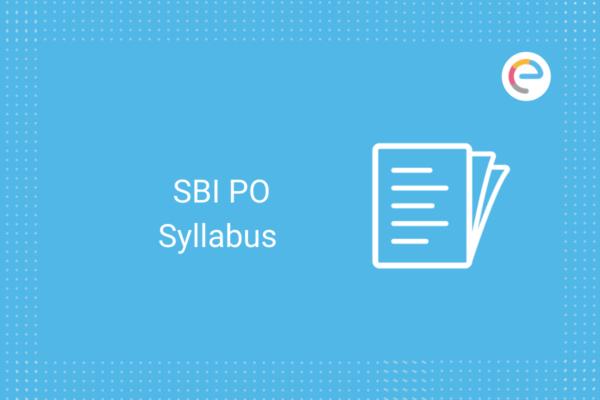 SBI PO Syllabus: Check