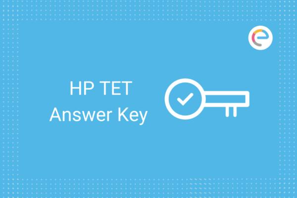 HP TET Answer key 2020: Check