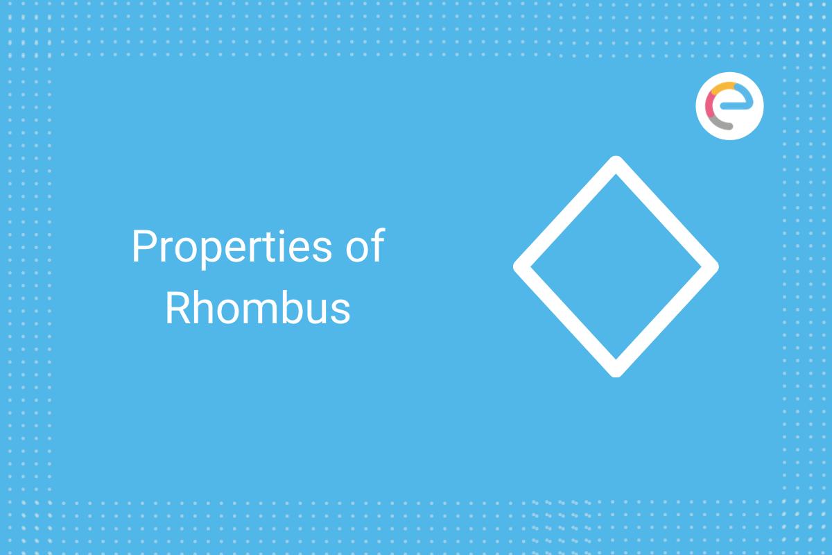 properties of rhombus