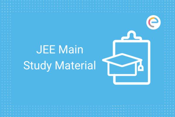 JEE Main Study Material