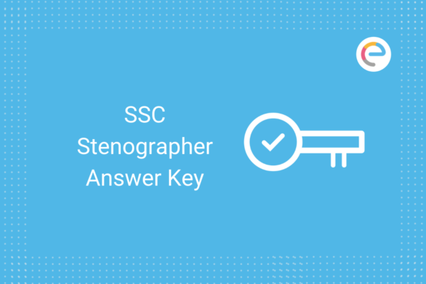 SSC Stenographer Answer Key 2020-21: Check