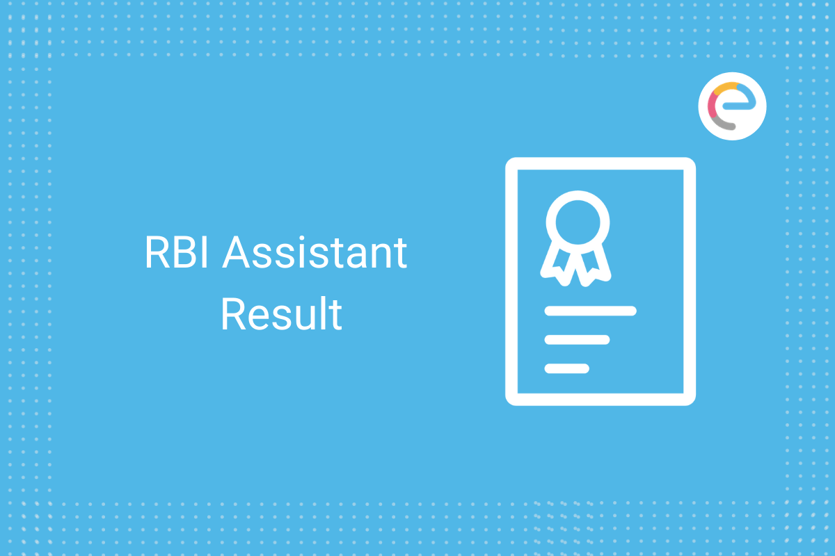 RBI Assistant Result: Check