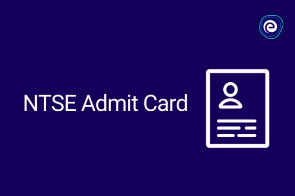 NTSE Admit Card
