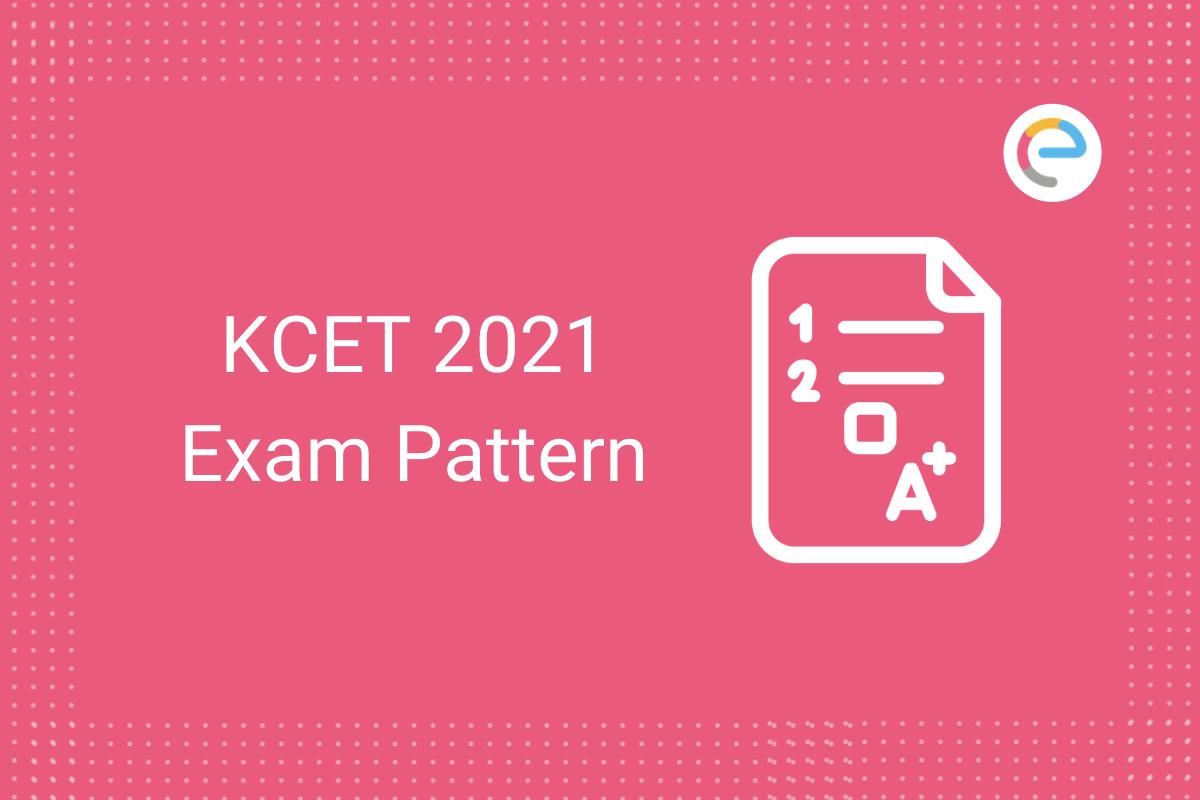 KCET Exam Pattern